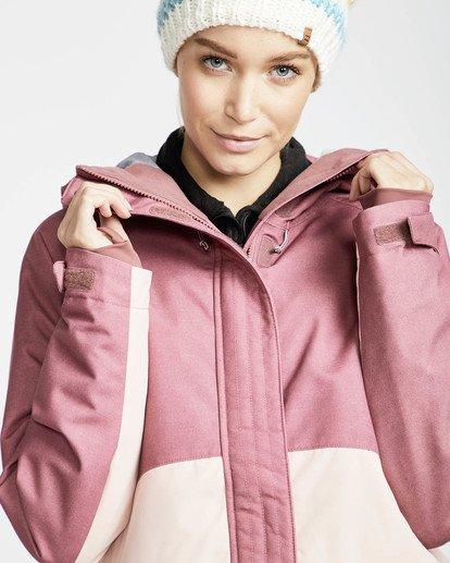2 Sienna Snow Jacket Rojo L6JF06BIF8 Billabong