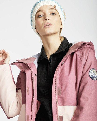 3 Sienna Snow Jacket Rojo L6JF06BIF8 Billabong