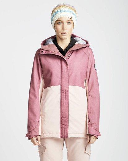 4 Sienna Snow Jacket Rojo L6JF06BIF8 Billabong