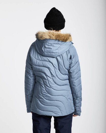 4 Soffya 10K Snow Jacket Marron L6JF08BIF8 Billabong