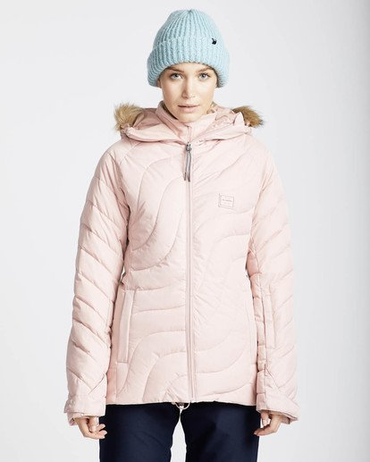 3 Soffya 10K Snow Jacket Rosa L6JF08BIF8 Billabong