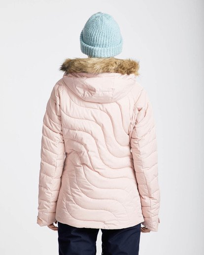4 Soffya 10K Snow Jacket Rosa L6JF08BIF8 Billabong