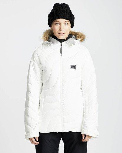 2 Soffya 10K Snow Jacket Blanco L6JF08BIF8 Billabong