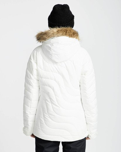 3 Soffya 10K Snow Jacket Blanco L6JF08BIF8 Billabong
