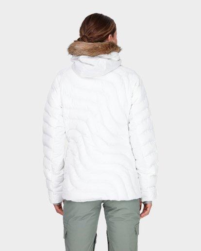 2 SOFFYA SNOW JACKET White L6JF08S Billabong