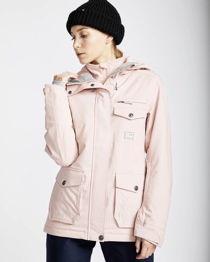 0 Elodie 10K Stretch Snow Jacket Rosa L6JF09BIF8 Billabong