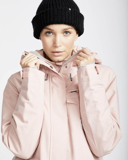 1 Elodie 10K Stretch Snow Jacket Rosa L6JF09BIF8 Billabong