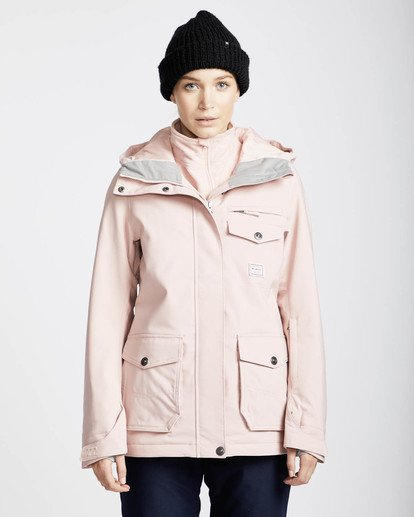 3 Elodie 10K Stretch Snow Jacket Rosa L6JF09BIF8 Billabong