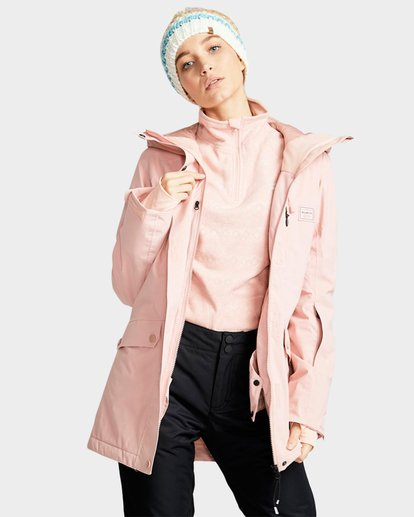 1 DALIA INS JKT Pink L6JF10S Billabong