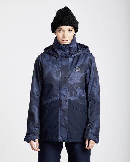3 Kayla 10K Snow Jacket Marron L6JF11BIF8 Billabong