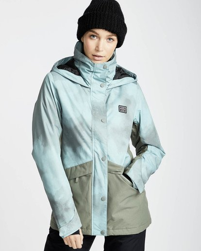 0 Kayla 10K Snow Jacket Verde L6JF11BIF8 Billabong