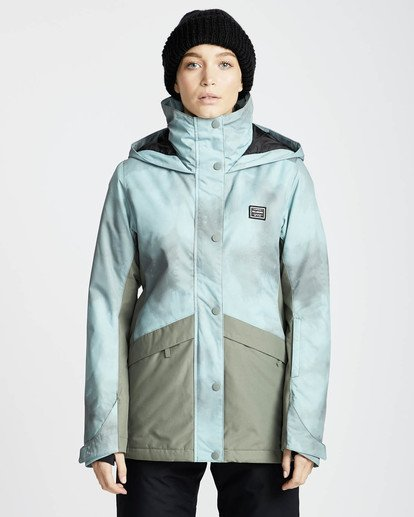 3 Kayla 10K Snow Jacket Verde L6JF11BIF8 Billabong