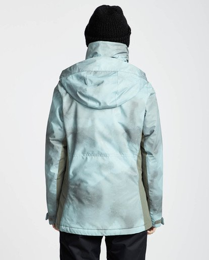 4 Kayla 10K Snow Jacket Verde L6JF11BIF8 Billabong
