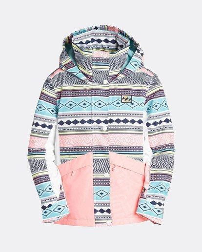 0 Teen Girls Kayla 10K Snow Jacket Blau L6JG01BIF8 Billabong