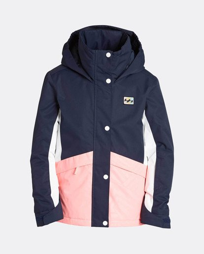 0 Teen Girls Kayla 10K Snow Jacket Blau L6JG01BIF8 Billabong