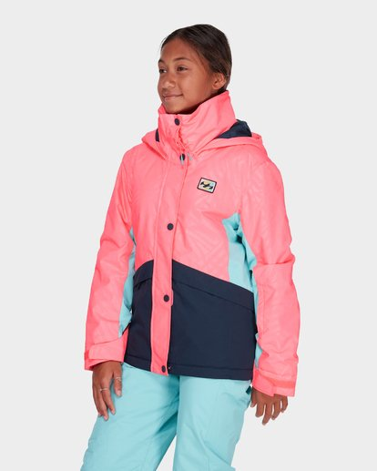 1 TEEN KAYLA SNOW JACKET Pink L6JG01S Billabong