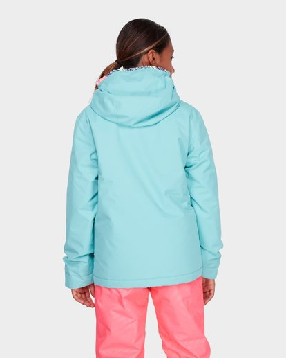 2 TEEN GIRLS SULA JACKET Blue L6JG02S Billabong