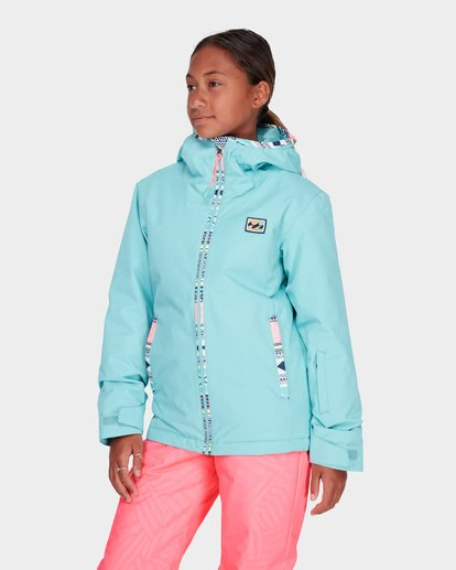 1 TEEN GIRLS SULA JACKET Blue L6JG02S Billabong