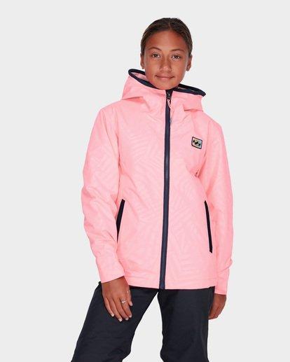 0 TEEN GIRLS SULA JACKET Pink L6JG02S Billabong