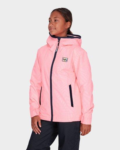 1 TEEN GIRLS SULA JACKET Pink L6JG02S Billabong