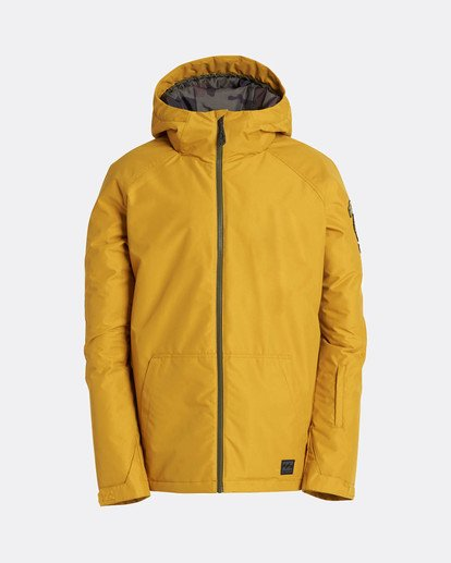 0 All Day 10K Snow Jacket Beige L6JM01BIF8 Billabong