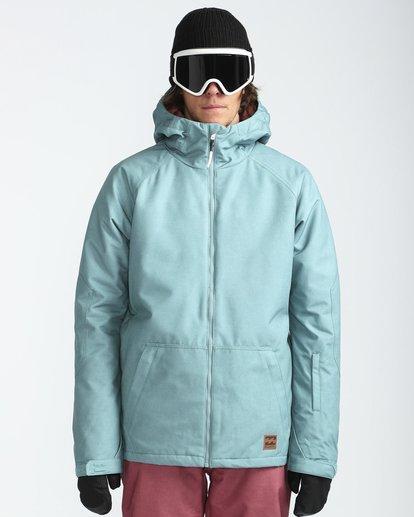 2 All Day 10K Snow Jacket Blau L6JM01BIF8 Billabong