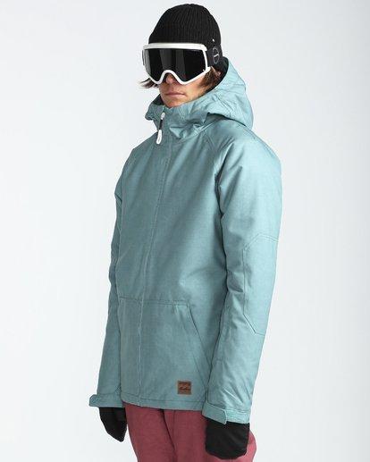 3 All Day 10K Snow Jacket Blau L6JM01BIF8 Billabong