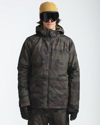 2 All Day 10K Snow Jacket Gemustert L6JM01BIF8 Billabong