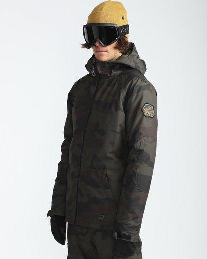 3 All Day 10K Snow Jacket Gemustert L6JM01BIF8 Billabong