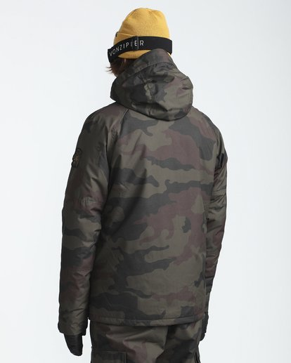 4 All Day 10K Snow Jacket Gemustert L6JM01BIF8 Billabong