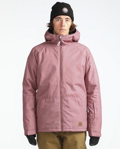 2 All Day 10K Snow Jacket Braun L6JM01BIF8 Billabong