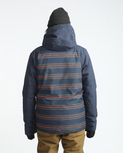 3 All Day 10K Snow Jacket Blau L6JM01BIF8 Billabong