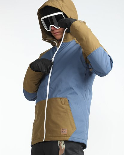 7 All Day 10K Snow Jacket Azul L6JM01BIF8 Billabong