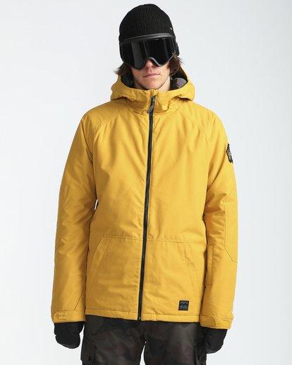 2 All Day 10K Snow Jacket Beige L6JM01BIF8 Billabong