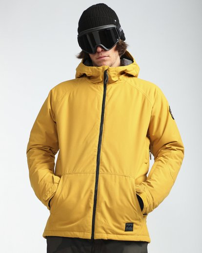 6 All Day 10K Snow Jacket Beige L6JM01BIF8 Billabong