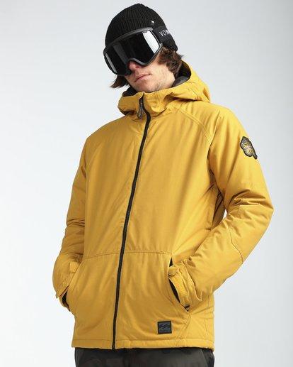 7 All Day 10K Snow Jacket Beige L6JM01BIF8 Billabong