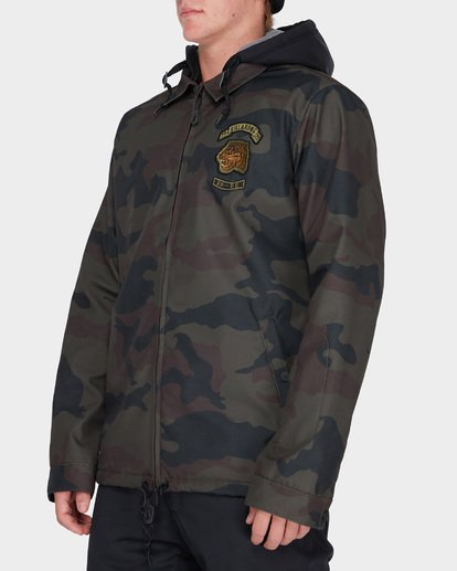 1 FASTPLANT SNOW JACKET Camo L6JM02S Billabong
