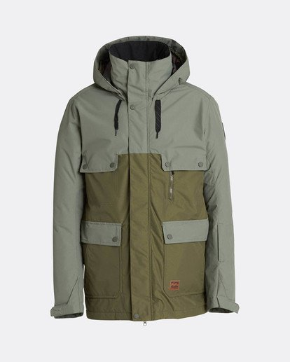 0 Craftman 10K Snow Jacket Marron L6JM03BIF8 Billabong