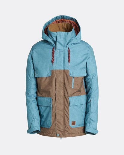 7 Craftman 10K Snow Jacket Azul L6JM03BIF8 Billabong