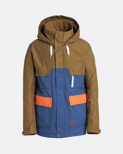0 Craftman 10K Snow Jacket Blau L6JM03BIF8 Billabong
