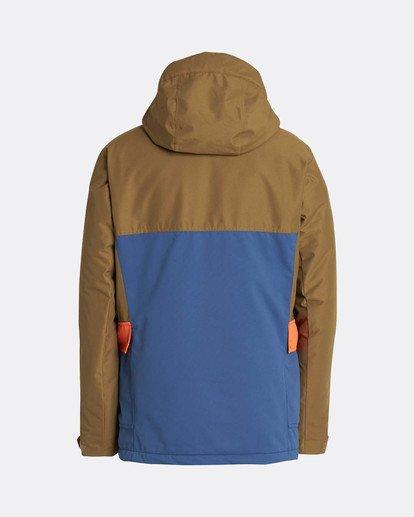 1 Craftman 10K Snow Jacket Blau L6JM03BIF8 Billabong