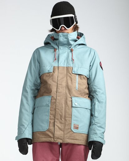 4 Craftman 10K Snow Jacket Azul L6JM03BIF8 Billabong