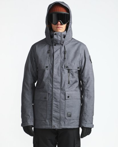 2 Craftman 10K Snow Jacket Noir L6JM03BIF8 Billabong