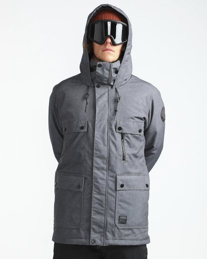 6 Craftman 10K Snow Jacket Noir L6JM03BIF8 Billabong