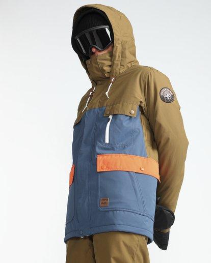 2 Craftman 10K Snow Jacket Blau L6JM03BIF8 Billabong