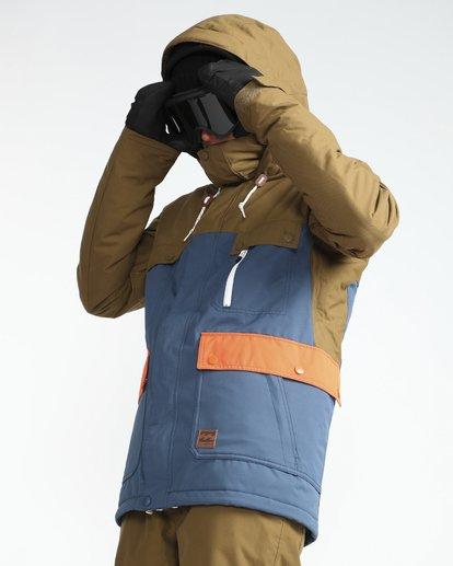 3 Craftman 10K Snow Jacket Blau L6JM03BIF8 Billabong