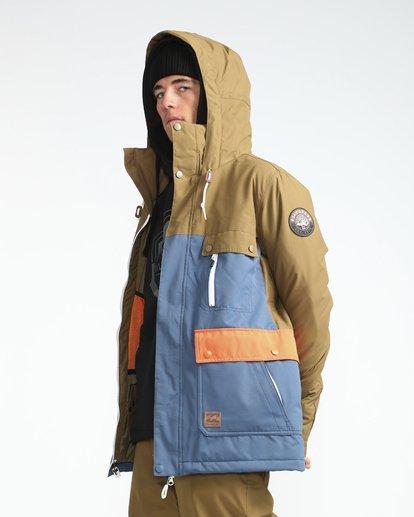 4 Craftman 10K Snow Jacket Blau L6JM03BIF8 Billabong