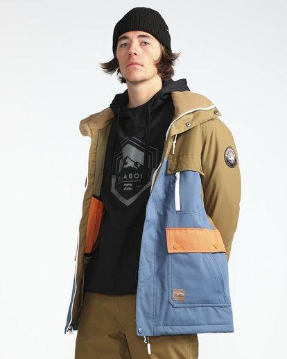 5 Craftman 10K Snow Jacket Blau L6JM03BIF8 Billabong