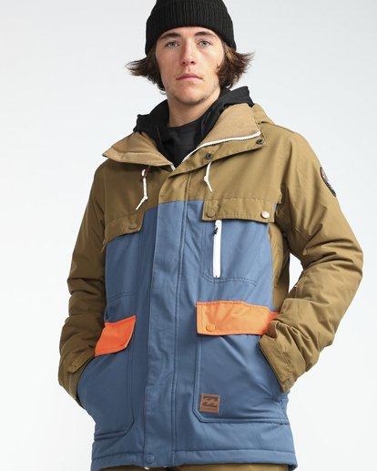 6 Craftman 10K Snow Jacket Blau L6JM03BIF8 Billabong