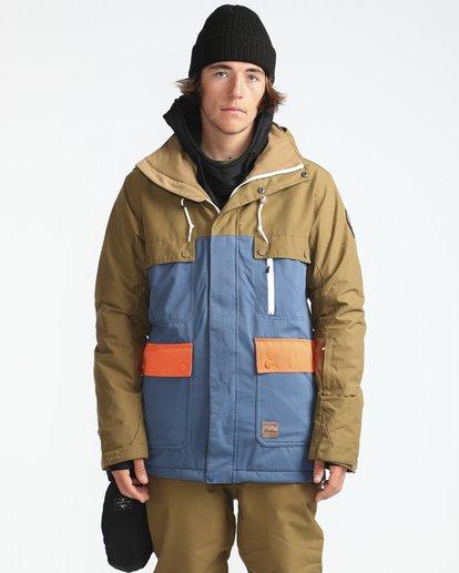 7 Craftman 10K Snow Jacket Blau L6JM03BIF8 Billabong